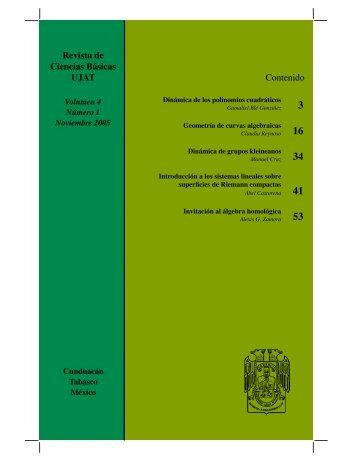 pdf 3Mb - Publicaciones - Universidad Juárez Autónoma de Tabasco