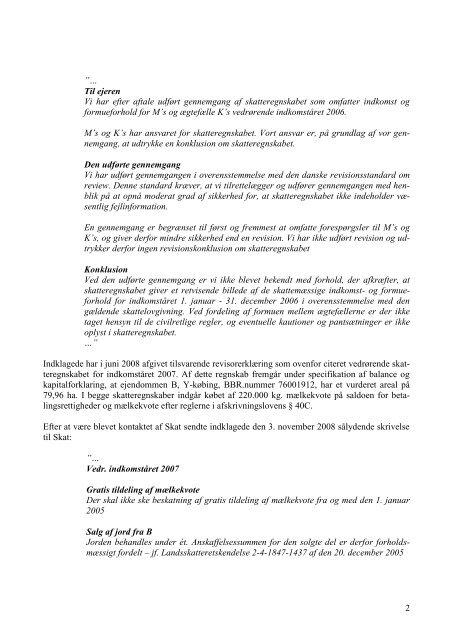 61/2009 (10. maj 2010) - Revisornævnet