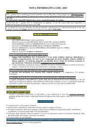 Nota informativa IMU - 2013 - Comune di Paese