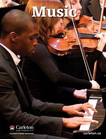 Music - Carleton University