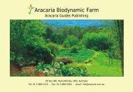 Aracaria Biodynamic Farm - Aracariaguides
