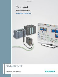 SIMATIC NET - Siemens Industry, Inc.