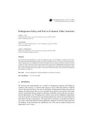 Endogenous Entry and Exit in Common Value Auctions