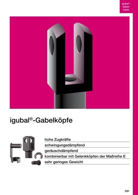 igubal®-Gabelköpfe - Igus