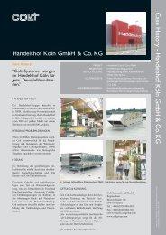 Integrales TGA - Konzept im Handelshof Köln - Colt International ...