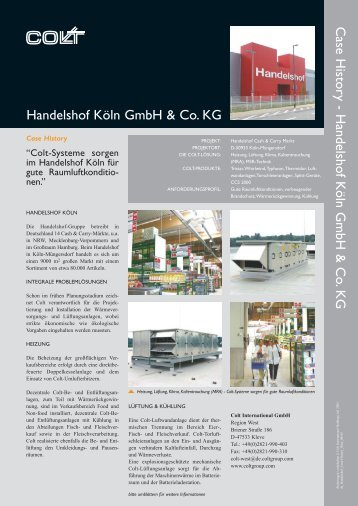 Integrales TGA - Konzept im Handelshof Köln - Colt International ...