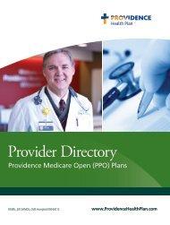 Providence Medicare Open (PPO) - Providence Health Plan