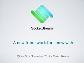 Download slides - QCon