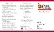 Career Portfolio Brochure.indd - The Career Center