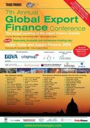 Global Export Finance - Euromoney Institutional Investor PLC