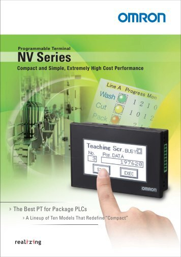 Programmable Terminal NS Series - pidindustrial.com.br