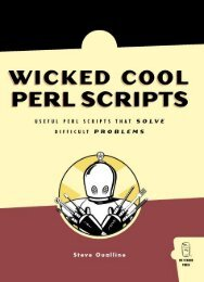 Wicked Cool Perl Scripts : Useful Perl Scripts That Solve Difficult ...