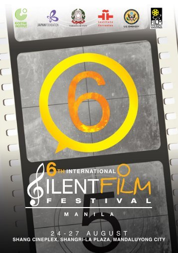 Download 6th Intl Silent Film Brochure - The Japan Foundation ...