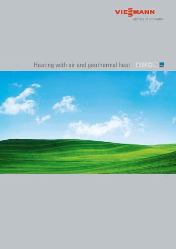 Heating with air and geothermal heat - Viessmann