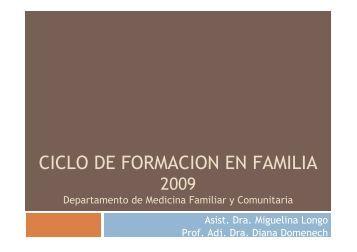 Ciclo taller 5 - Página de los Residentes de Medicina Familiar y ...