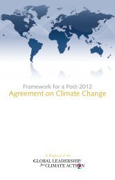 Agreement on Climate Change - Yale Center for the Study of ...