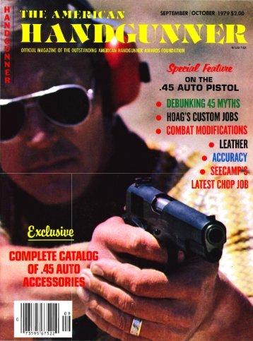 Sept/Oct 1979 - American Handgunner
