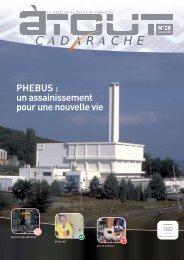 PHEBUS : un assainissement pour une nouvelle vie - Centre de ...
