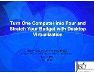 Turn One Computer into Four With Desktop Virtualization - Judson ...