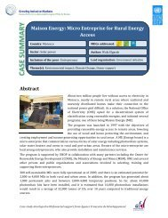 Abstract Maison Energy - Growing Inclusive Markets