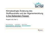 KLIWAS Workshop - Beitrag von Paulin Hardenbicker (pdf, 775 KB)