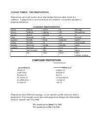 Prepositions Worksheets - Mona Shores Blogs