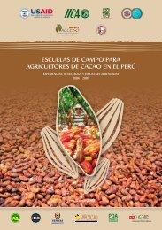 escuelas de campo para agricultores de cacao en el perú