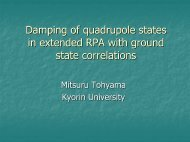 Damping of quadrupole states in extended RPA with ground-state ...