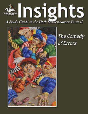 The Comedy of Errors, 2003 - Utah Shakespearean Festival