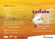 LORFOLIO - Inffolor