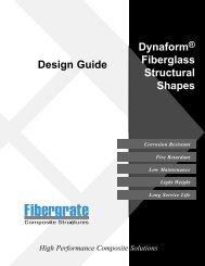 Design Guide - Fibergrate Composite Structures Inc.
