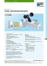 Produktblad - WindowMaster