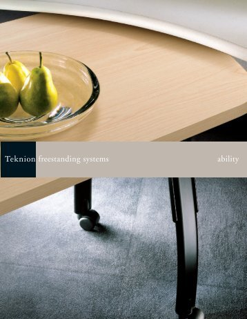freestanding systems ability - The Office Furniture Group.