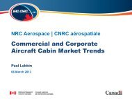 Commercial and Corporate Aircraft Cabin Market Trends