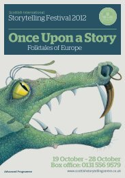 Once Upon a Story - The Scottish Storytelling Centre