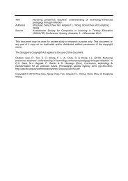 Title Nurturing preservice teachers - NIE Digital Repository ...