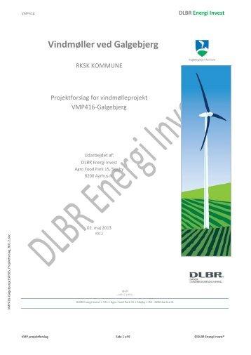 Projektforslag af 2. maj 2013.pdf - Ringkøbing-Skjern Kommune