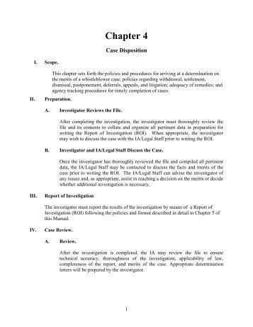 IOSH Discrimination Manual Chapter 4 - Iowa Workforce Development