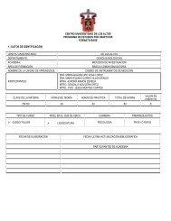 DATOS DE IDENTIFICACION - Centro Universitario de los Altos