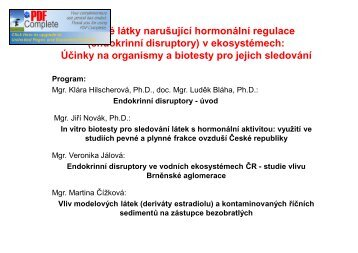 PDF ke stažení - Centrum pro výzkum toxických látek v prostředí