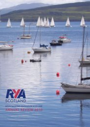 ANNUAL REVIEW 2010 - RYA Scotland