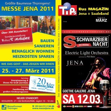 MÄRZ - MAGAZIN JENA + Saaleland