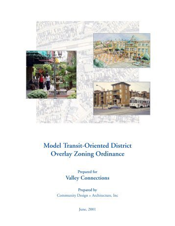Model TOD Zoning Ordinance (PDF, 3.7 MB) - Reconnecting America