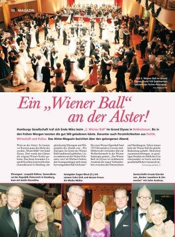 """Ein """"Wiener Ball"""" an der Alster! - Augenblick Casting"""