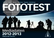 Mediadaten 2012-2013 - Fototest