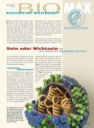 wie Viren ihr Überleben sichern - Max-Wissen