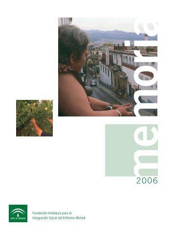 Acceso la Memoria 2006 (pdf tamaño 223 KB) - Fundación ...