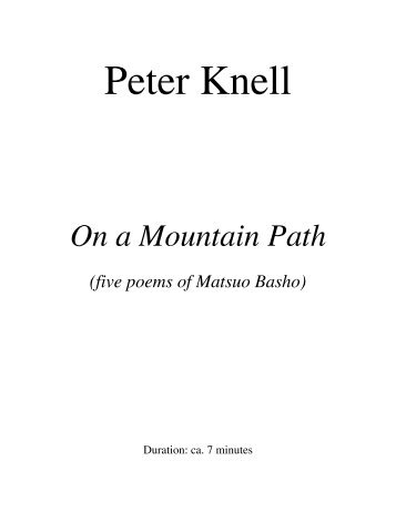 Peter Knell - Schola Cantorum on Hudson