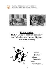 Urgent Action: HLRN Guide to Practical Solidarity for ... - hic-sarp.org