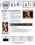 "ARTIST(S) ā€"" RELEASE TITLE - Fontana North - Page 4"